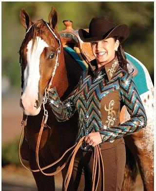 Hobby Horse Inc. Charlize Show Tunic Top Size Medium