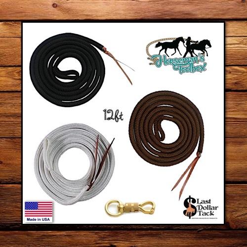 12ft Super Deluxe Horseman's Training Rope