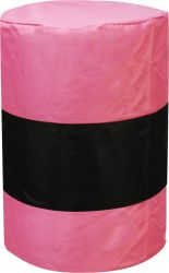 Barrel Covers Heavy Duty Pink Nylon Arena Field Competition