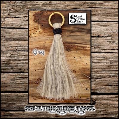 "Shu-Fly Horse Hair Tassel 7.5"" Long"