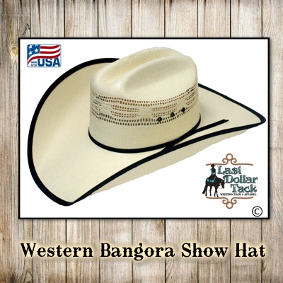 Ranger Company Western Show Hat-Made in USA