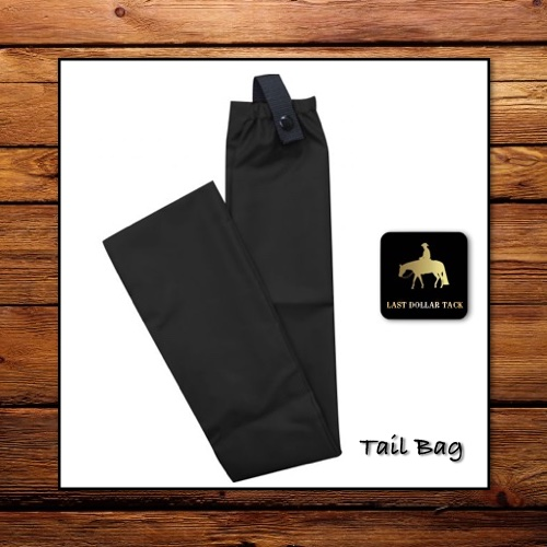 Tail Bag Black Cordura Nylon
