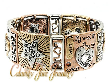 'My Wish Finally Comes True' Inspired Message Bracelet
