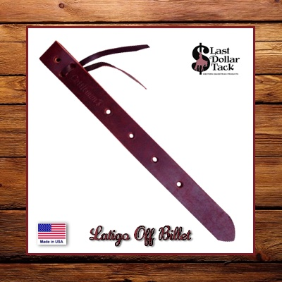 Cattleman's Off Billet Latigo Leather