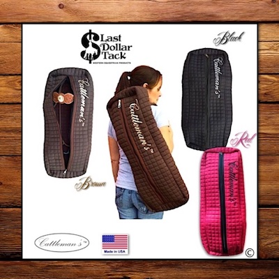 Cattleman's Carrying Storage Bag for Headstalls