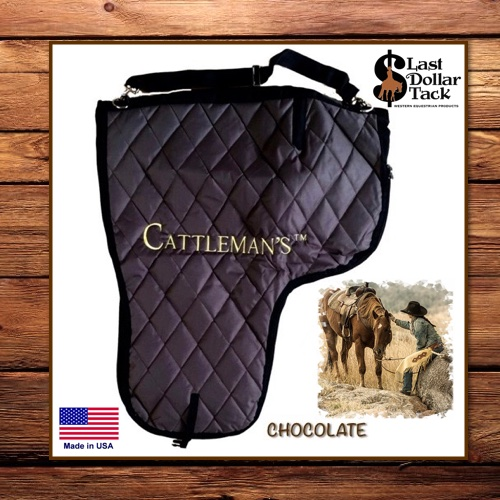 Cattleman's Deluxe Padded Western Saddle Carrying Bag