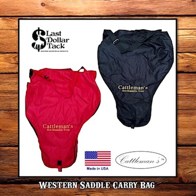Cattleman's Western Saddle Protector Carrying Bag