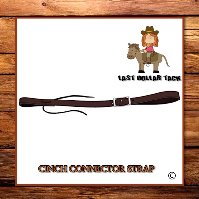 Economy Cinch Connector Strap Dark Oil