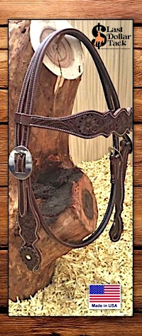 First Grade Quality Sadesa Leather Browband Headstall