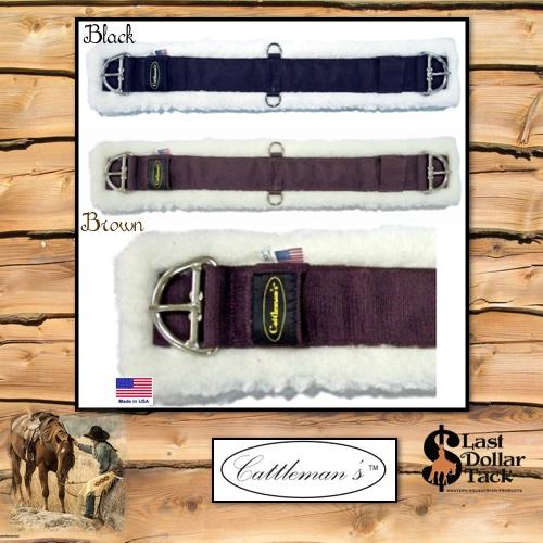 Cattleman's Soft Thick Fleece & Cordura Western Cinch