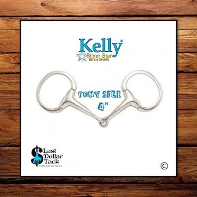 Kelly Silver Star Pony Eggbutt Snaffle