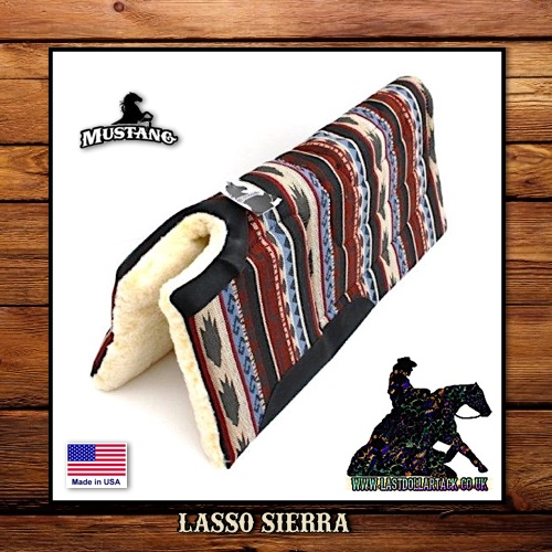 Mustang Lasso Sierra Built-Up Saddle Pad