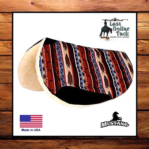 Mustang Lasso Sierra Contoured Barrel Pad