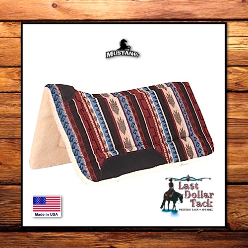 Mustang Lasso Sierra Contoured Saddle Pad