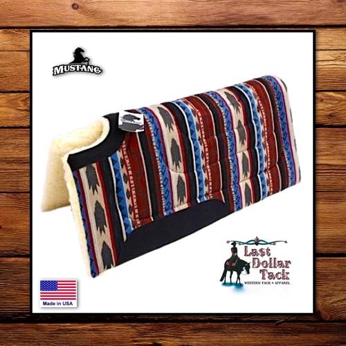 Mustang Southwest Lasso Sierra Western Saddle Pad