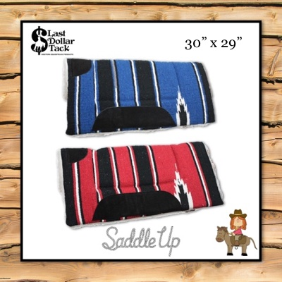 Western Pony Pad Wool & Fleece