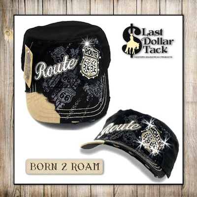 Route 66 Cadet Cap-Black