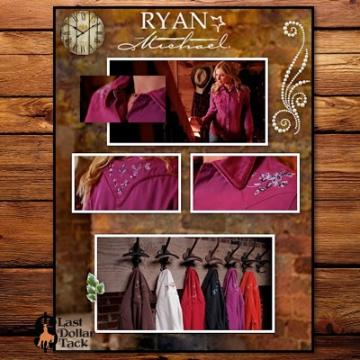Ryan Michael Collection Uniquely American Ladies Designer Western Shirt