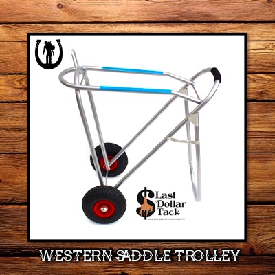Western Saddle Trolley Cart