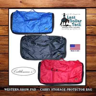 Western Saddle Pad Protector Carry Storage Bag