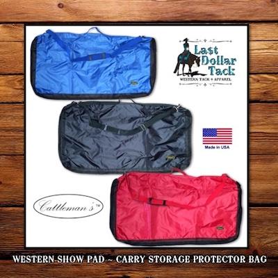Western Saddle Pad Protector Carry Storage Bag