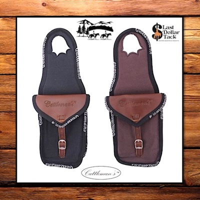 Cattleman's Western Saddle Single Horn Bag