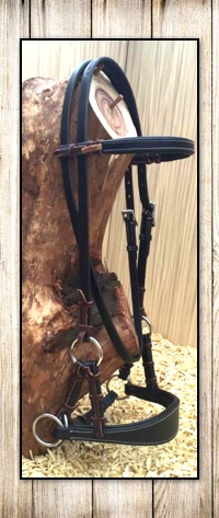 Comfort Bitless Sidepull Headstall Premium Soft Leather in 5 Colours