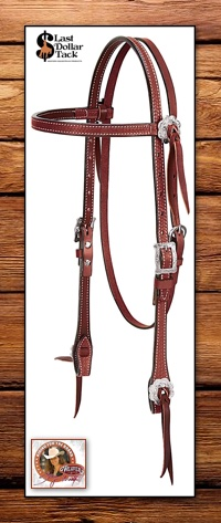 Weaver Leather Trailblazer Headstall - Stacy Westfall Collection