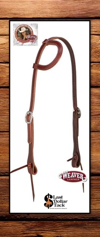Stacy Westfall Weaver Leather Pro Tack One Ear Sliding Headstall