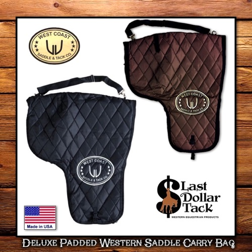 West Coast Deluxe Western Saddle Carrying Bag