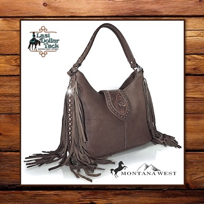 Trinity Ranch Handbag Cheyenne Trails Fringe Collection